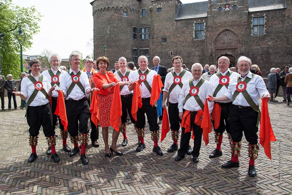 With the burgomaster of Helmond – Queen's Day 2013